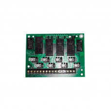 4PT AUXILIARY RELAY MODULE - SIMPLEX