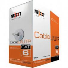 Cable UTP Cat 6 (Por metros)