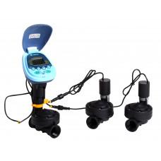 """Controlador a Batería Para 3 Zonas con 3 Válvulas de 1"""""""