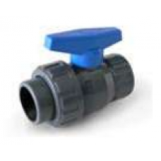 Válvula de Bola PVC 1 Unión Americana Hilo