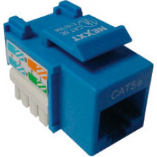 Conect.Keystone CAT5e 110 Azul - Nexxt Solutions Infrastructure