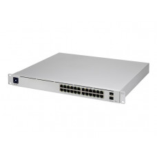 24Port Gigabit Switch with 802.3bt PoE Layer - Ubiquiti