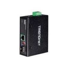 Conversor de Medios Industrial SFP a 100 - 1000Base - T POE+ - Trendnet