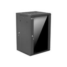 Nexxt 18U SKD Wall Mount Enclosure W600mm D550mm Black - Nexxt Solutions Infrastructure