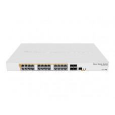 CRS328 - 24P - 4S+RM Router - Switch 24xGigE + 4xSFP 500W - Mikrotik