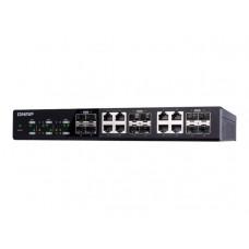 Qnap Switch QSW - 1208 - 8C 4x10Gigabit SFP+ rack - mountable - QNAP