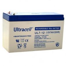 Batería 12V 7 A/h AGM - Ultracell